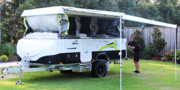 Camper Room Awning: Awnings made from exclusive Austrong vinyl range
