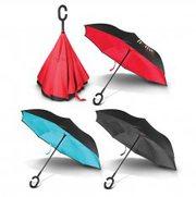 Gemini Inverted Umbrella - Custom Printed Umbrella   Vivid Promotions