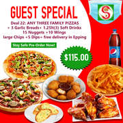 best pizza in epping - online order from snappys pizza and pide